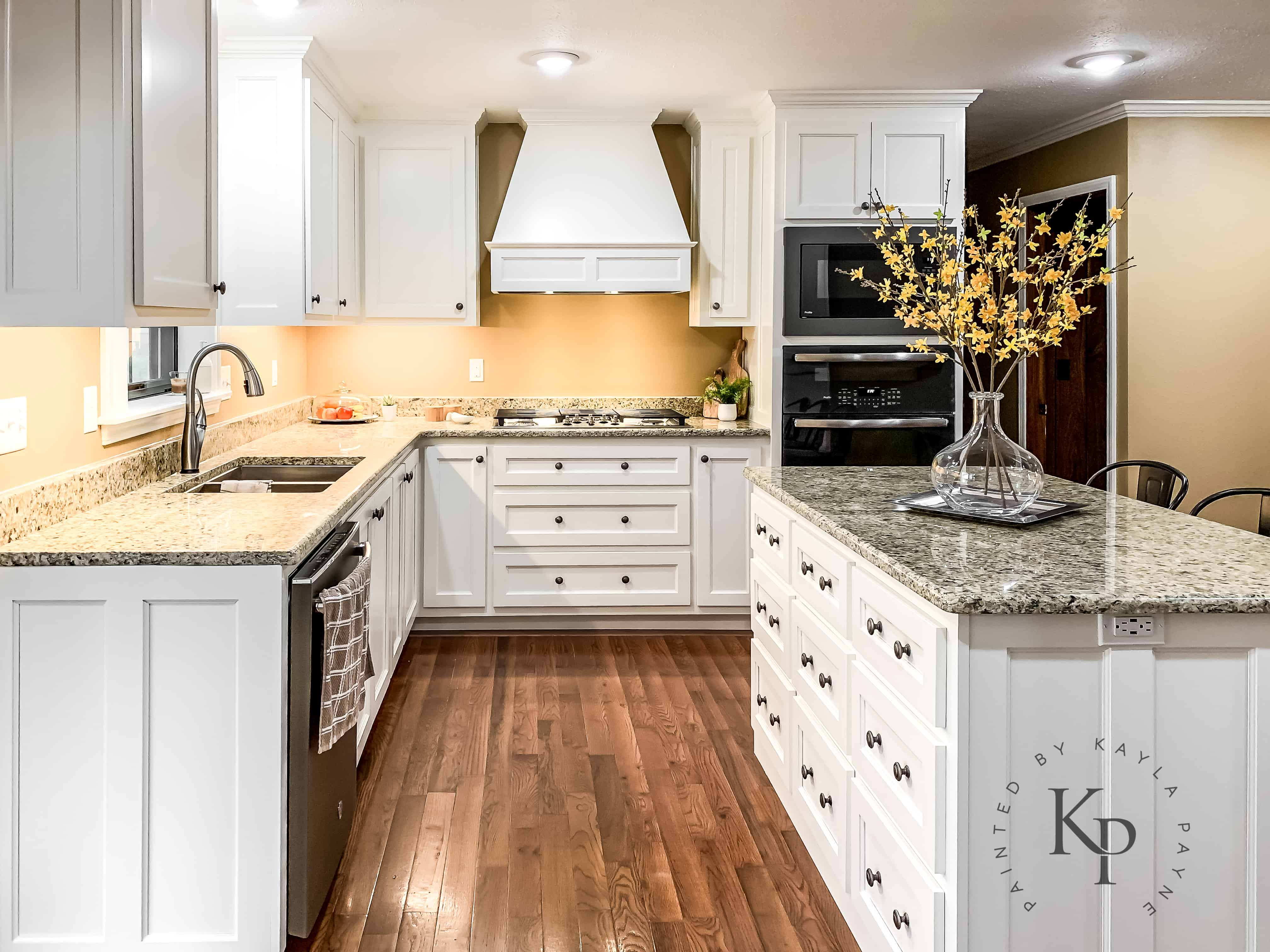 Photos Of White Kitchen Cabinets Kitchen Cabinets In Sherwin Williams Dover White Painted By