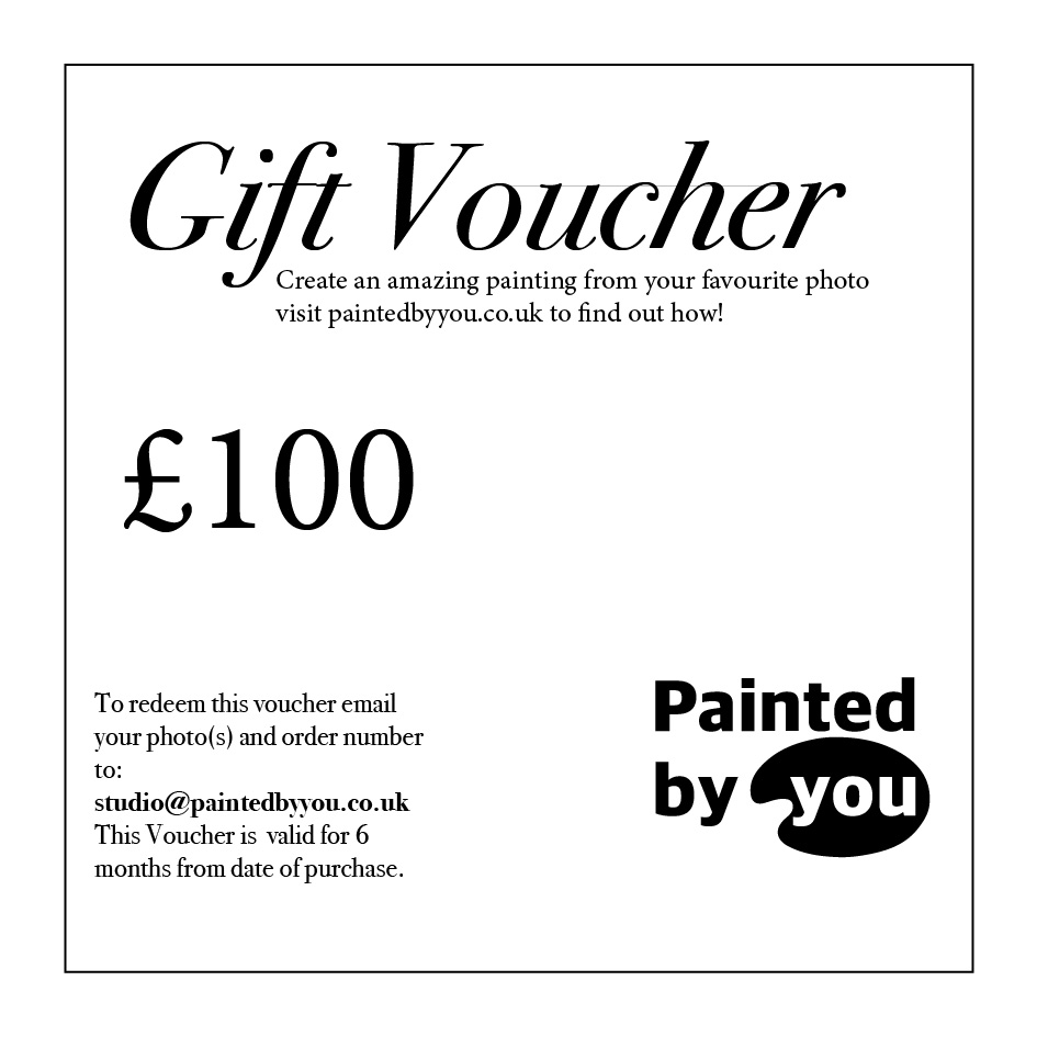 Email Gift Vouchers Gift Email Voucher 100