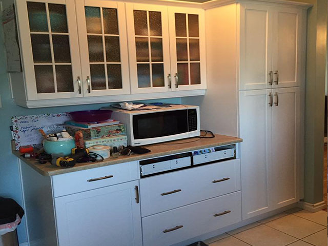 Refinishing Melamine Kitchen Cabinets (kitchen Cabinets Painting Ottawa, On) | Staining