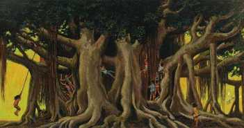 Herb-Kawainui-Kane_Under-The-Banyan-Tree_1978_ b.1928