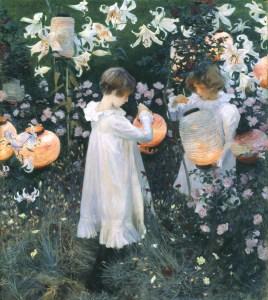 Carnation, Lily, Lily, Rose 1885-6 John Singer Sargent 1856-1925