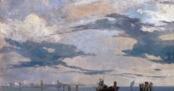 Richard-Parkes-Bonington_Near Honfleur_c.1823
