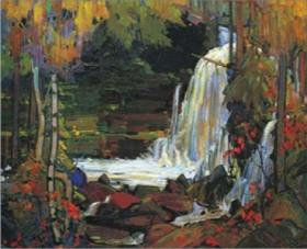 Tom-Thomson_Woodland-Waterfall
