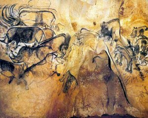 chauvet-cave-rhinos-painting