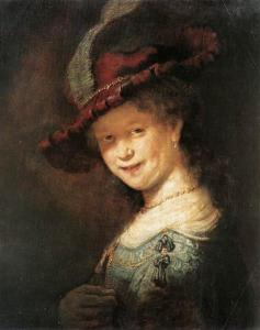 Rembrandt_portrait-of-the-young-saskia-1633