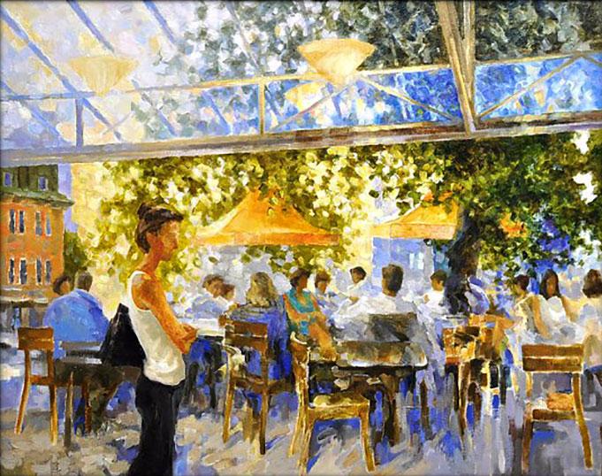 The Harvard Cafe by Alexandr Fayvisovich, New York City, NY, USA