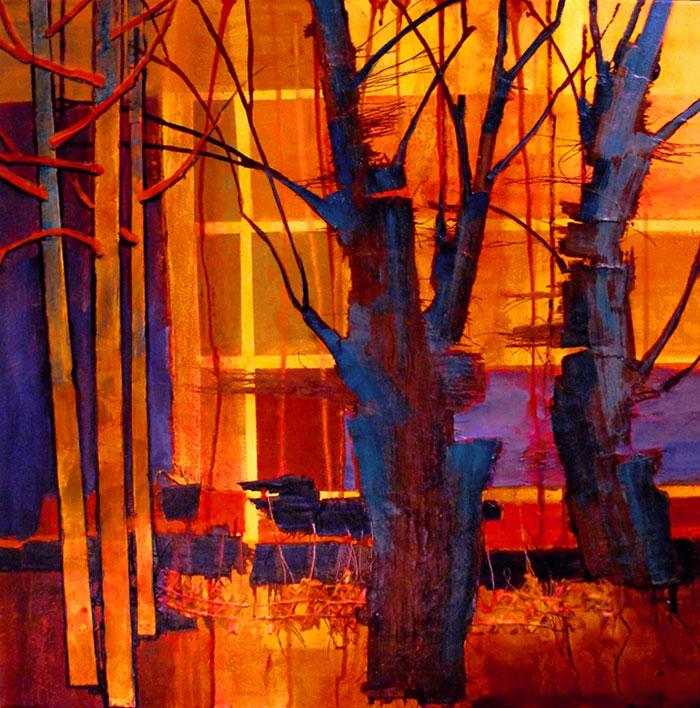 'Parkview 3 - Earth Light Series by Carol Nelson, Colorado, USA