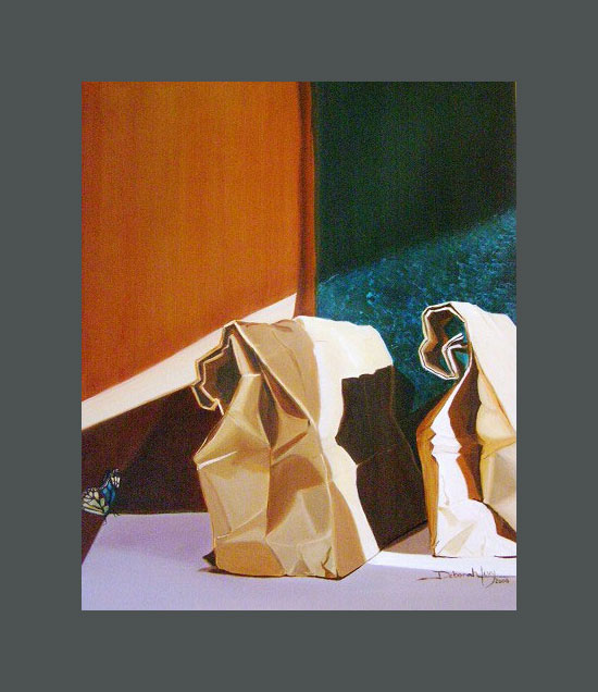 'Soul between Brown Bags   by Deborah Levy, Highwood, Illinois, USA