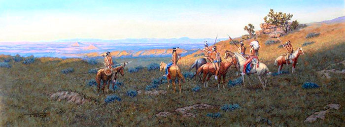 'Prairie Conference by Dave Paulley, Osage, Wyoming, USA