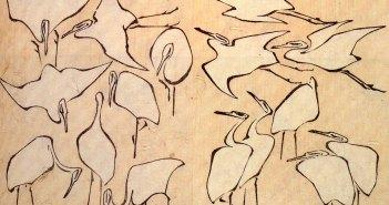 Hokusai_Cranes