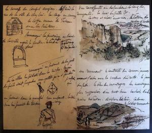 Eugene-Delacroix__sketchbook-Morocco
