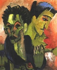 kirchner_double-self-portrait