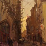 charles-spratt_old-quebec-in-the-early-morning-30x40