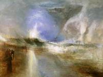 Rockets and Blue Lights (Close at Hand) to Warn Steam Boats of Shoal Water exhibited 1840 Joseph Mallord William Turner 1775-1851 Sterling and Francine Clark Art Institute, Williamstown, Massachusetts http://www.tate.org.uk/art/work/TW1328