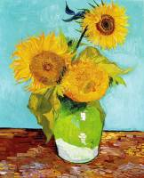 vincent-van-gogh_three-sunflower