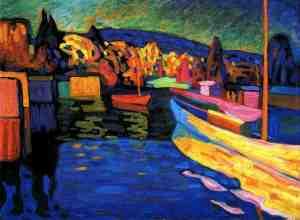 wassily-kandinsky_boats_1908