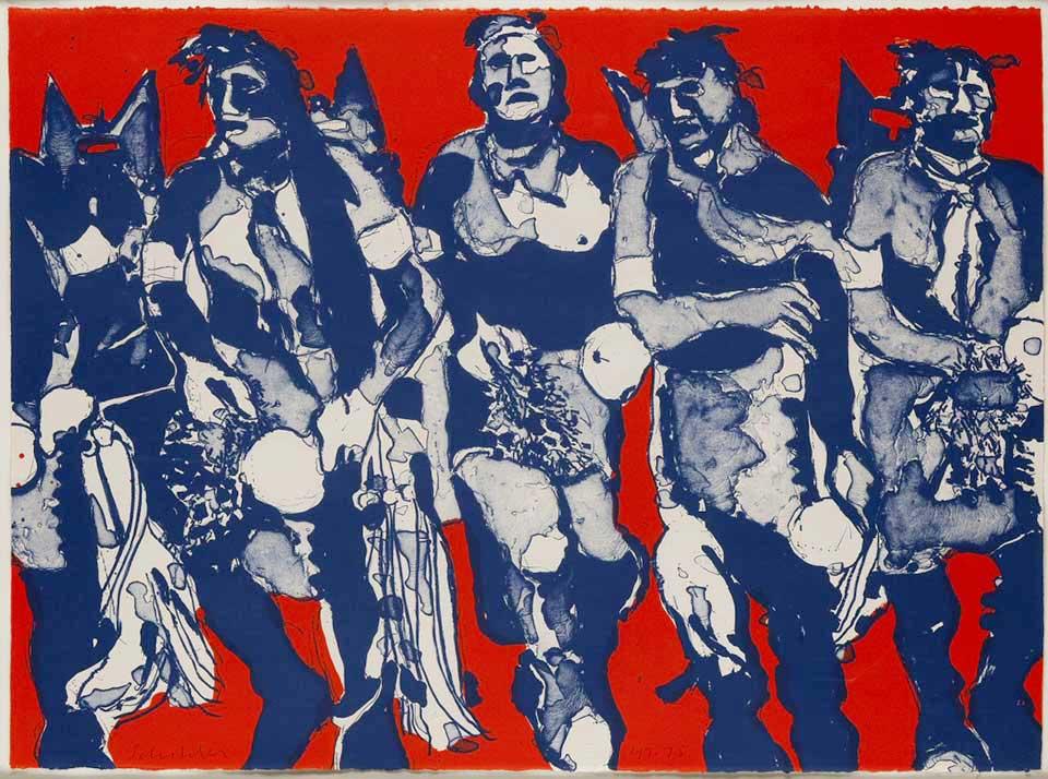 fritz-scholder_hopi-dancers_1974