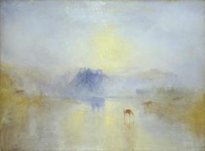 Norham Castle, Sunrise c.1845
