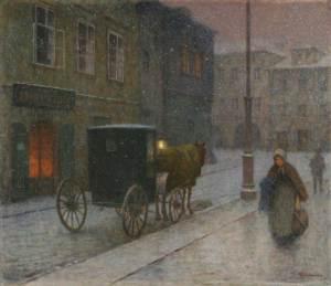 jakub-schikaneder_the-streets-of-drozkou_1900-10