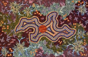 Clifford-Possum-Tjapaltjarri_Napperby-Lake
