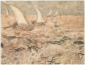Vincent-van-Gogh_Fishing-Boats-at-Sea