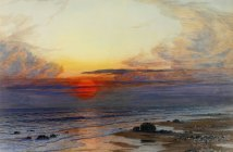 joseph-severn_sunset