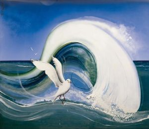 brett-whiteley_seagull-(japanese-the-screaming-voice)