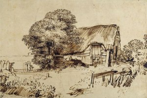 rembrandt_thatched-cottage-large-tree