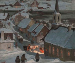 clarence-gagnon_midnight-mass