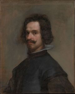 Portrait of A Man, c. 1630–1635 27 × 21 3⁄4 inches oil on canvas by Diego Velasquez