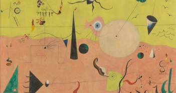 The Hunter (Catalan Landscape), 1923–24 oil on canvas  25 1/2 x 39 1/2 inches by Joan Miró.