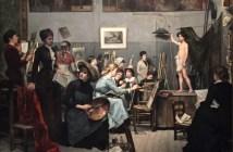 The Studio, 1881 oil on canvas by Marie Bashkirtseff (1858-1884)