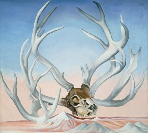 From the Faraway, Nearby, 1937 oil on canvas 36 x 40 1/8 inches by Georgia O'Keeffe