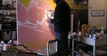 Getting started on Ramparts, February 2004.