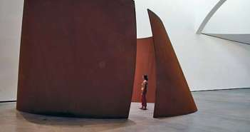 Torqued Ellipse (2003-04)  steel sculpture by Richard Serra (b.1938)  Robert Polidori photo