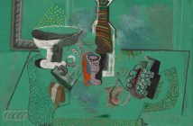 Green Still Life Avignon, summer 1914 Oil on canvas 59.7 x 79.4 cm by Pablo Picasso
