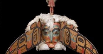 Transformation Mask cedar woodcarving (Haida) by Charles Edenshaw (1839-1920)
