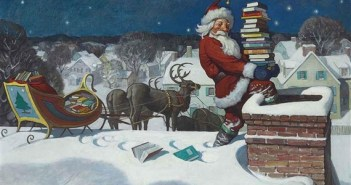 Santa, 1920 by N.C. Wyeth (1882-1945)