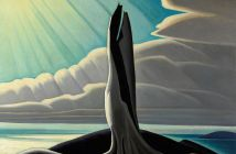North Shore, Lake Superior, 1926 Oil on canvas  40 1/4 x 50 1/8 inches by Lawren Harris (1885-1970)