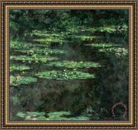 Claude Monet Waterlilies Framed Print for sale ...