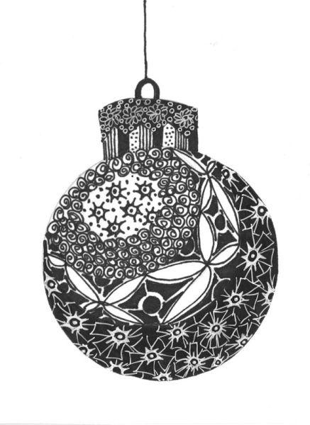 christmas cards black and white - Roho4senses - christmas cards black and white