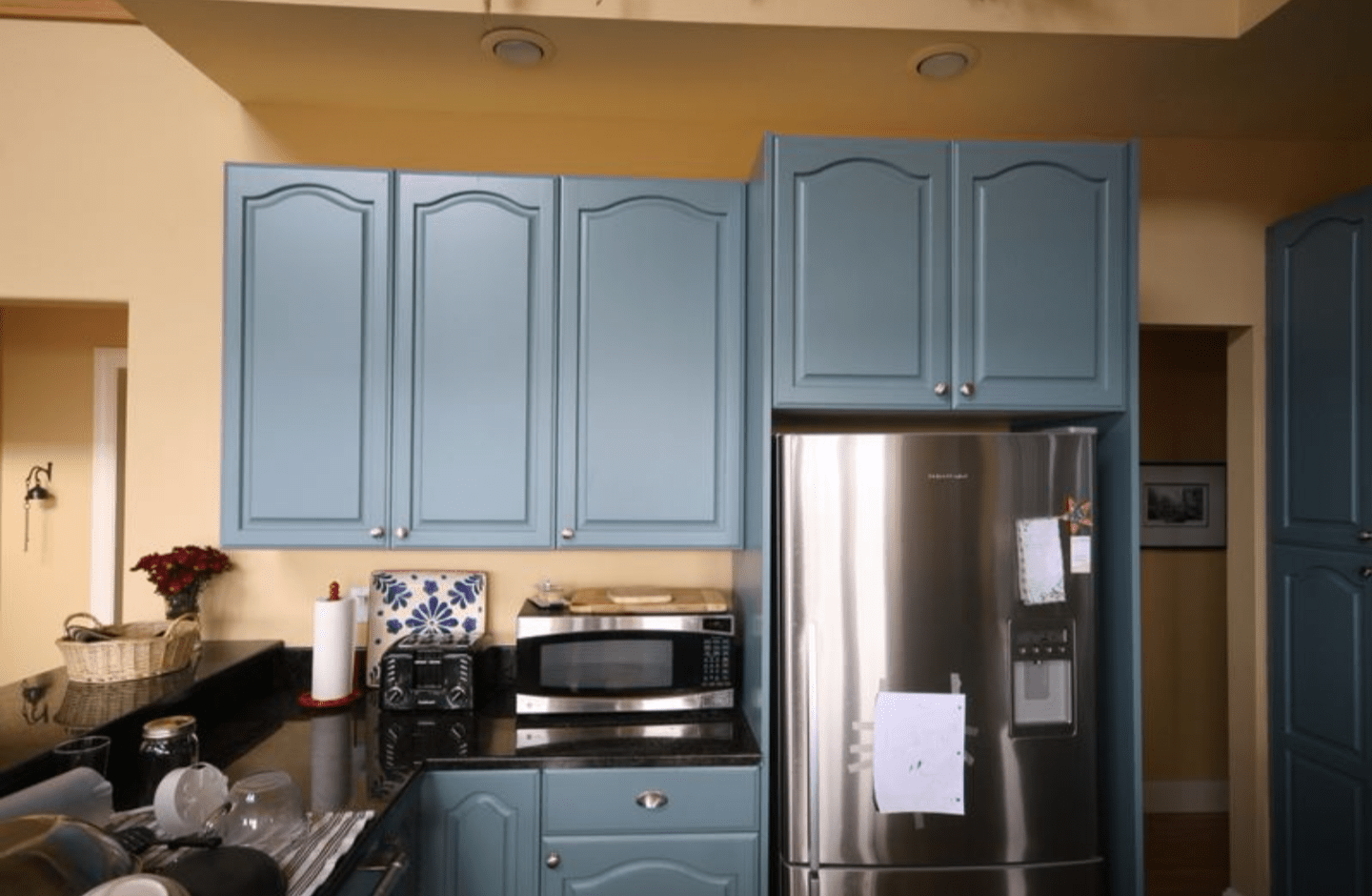 p kitchen cabinet refinishing Kitchen cabinet painting Denver