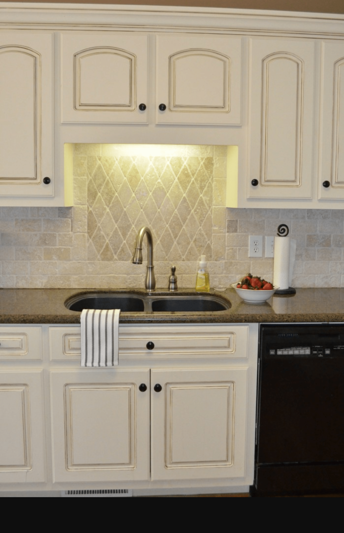 p kitchen sinks denver Kitchen cabinet painting and cabinet refinishing in Denver