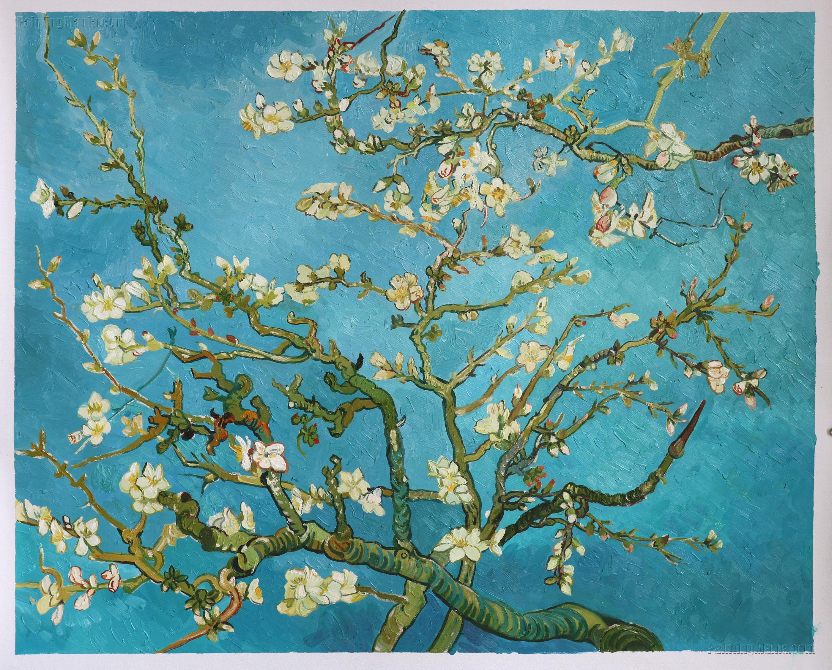 Mandelblüte Van Gogh Branches With Almond Blossom 1885 Vincent Van Gogh Paintings