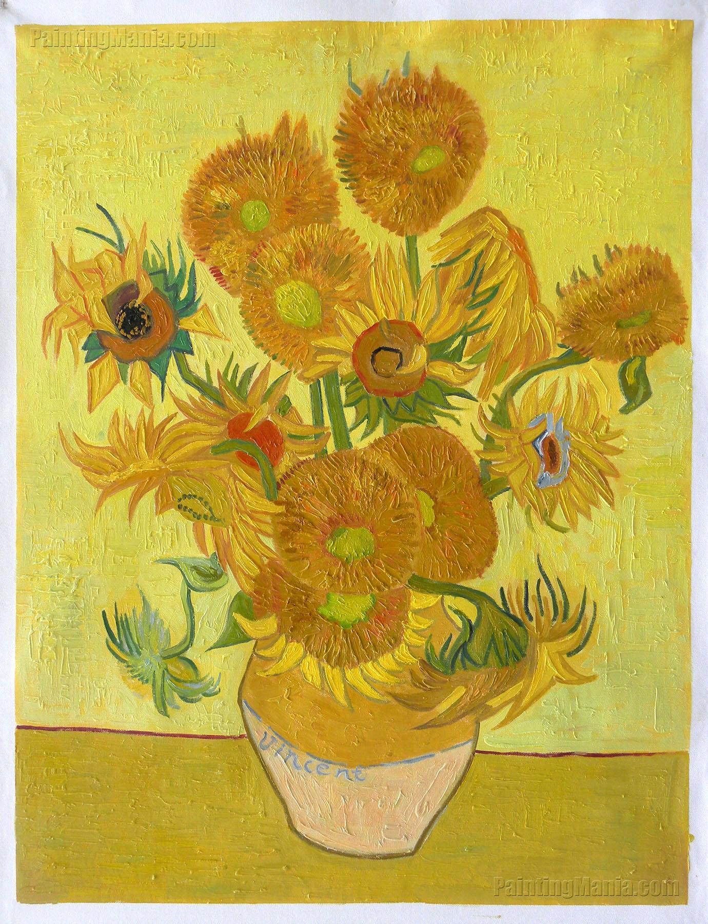Vincent Van Gogh Paintings Sunflowers Sunflowers 1889 Vincent Van Gogh Paintings