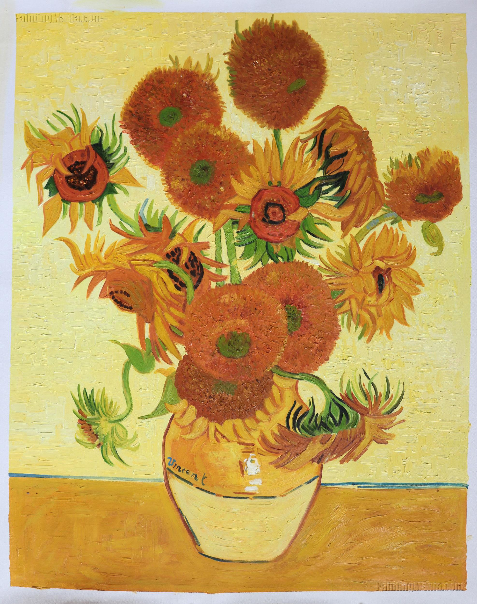 Vincent Van Gogh Paintings Sunflowers Sunflowers Vincent Van Gogh Paintings