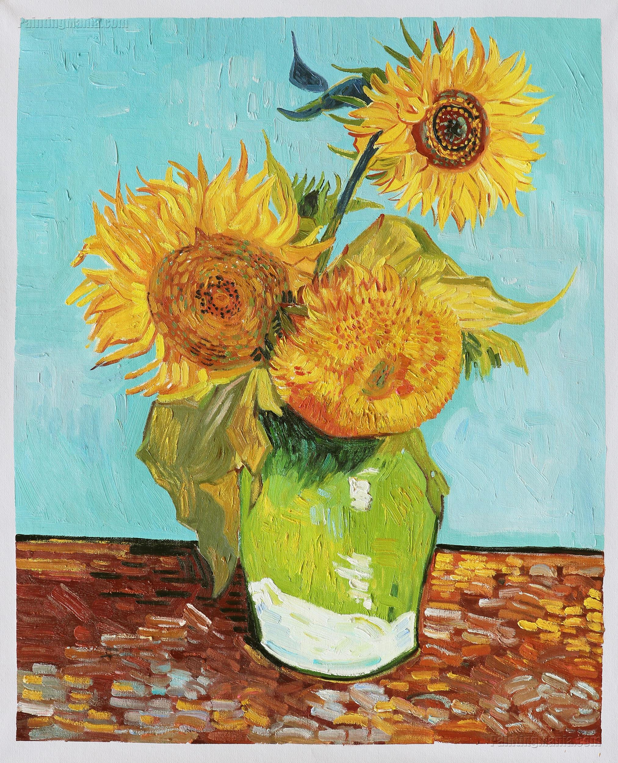 Vincent Van Gogh Paintings Sunflowers Sunflowers 1888 Vincent Van Gogh Paintings