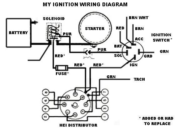wiring agm hei distributor