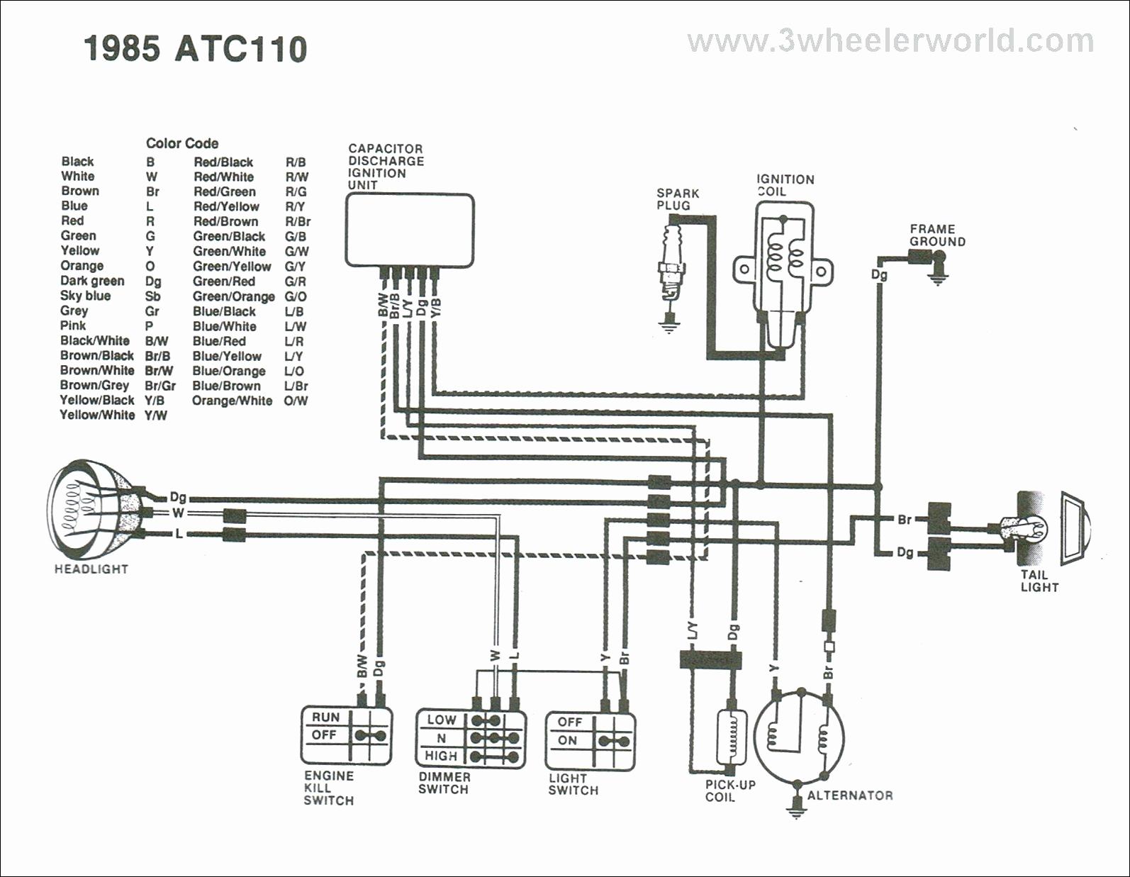 110 four wheeler wiring diagram