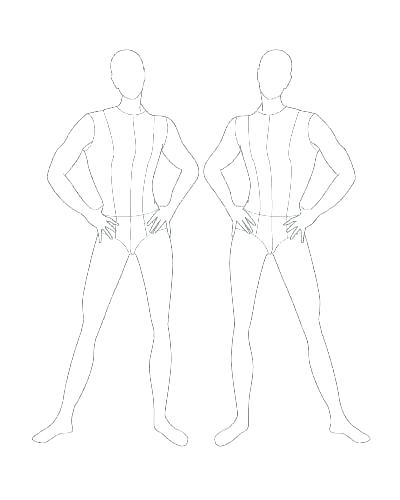 Body Sketch Template at PaintingValley Explore collection of